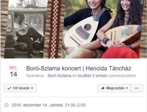 Hencida Táncház és folkkocsma – 2018. december 14