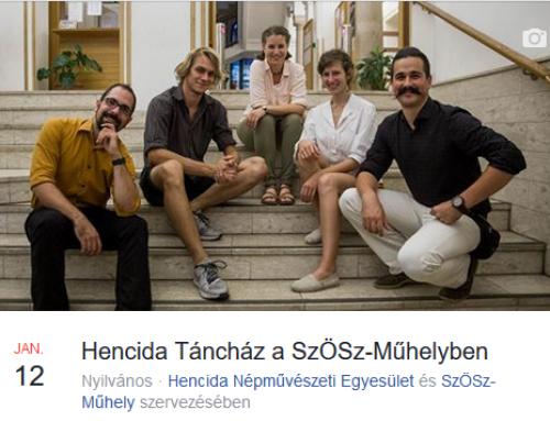 Hencida Táncház és folkkocsma – 2019. január 12.